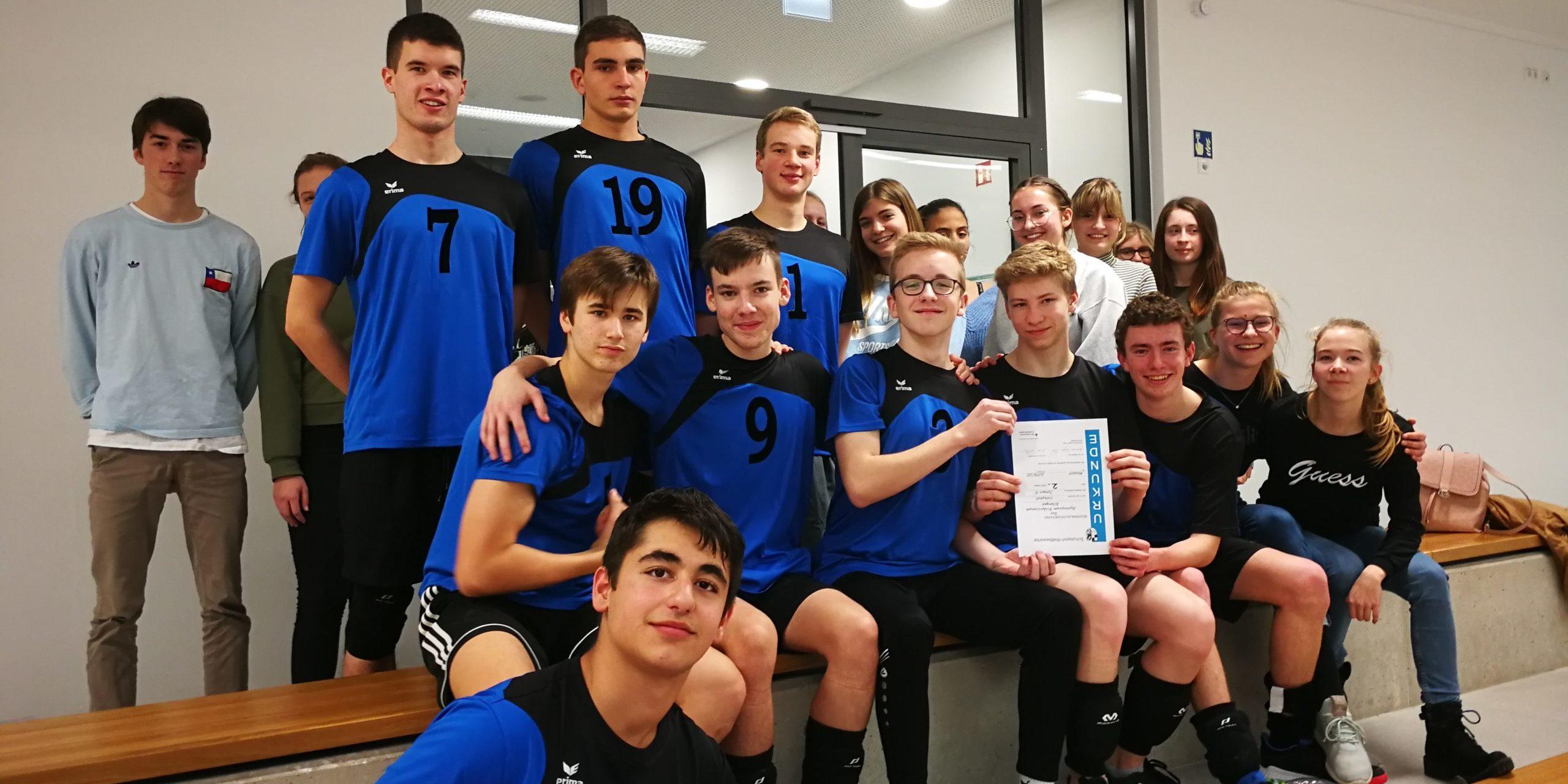 Es geht weiter… 2. Runde: Regionalfinale Volleyball Jungen II