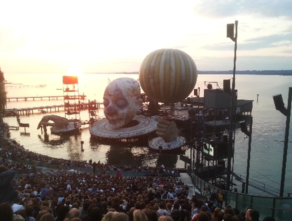 Opernbesuch bei den Bregenzer Festspielen