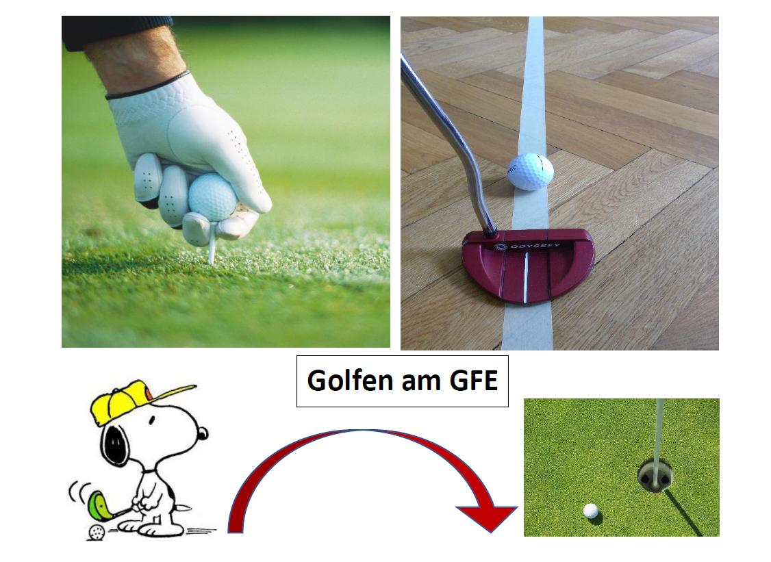 Golfen am GFE