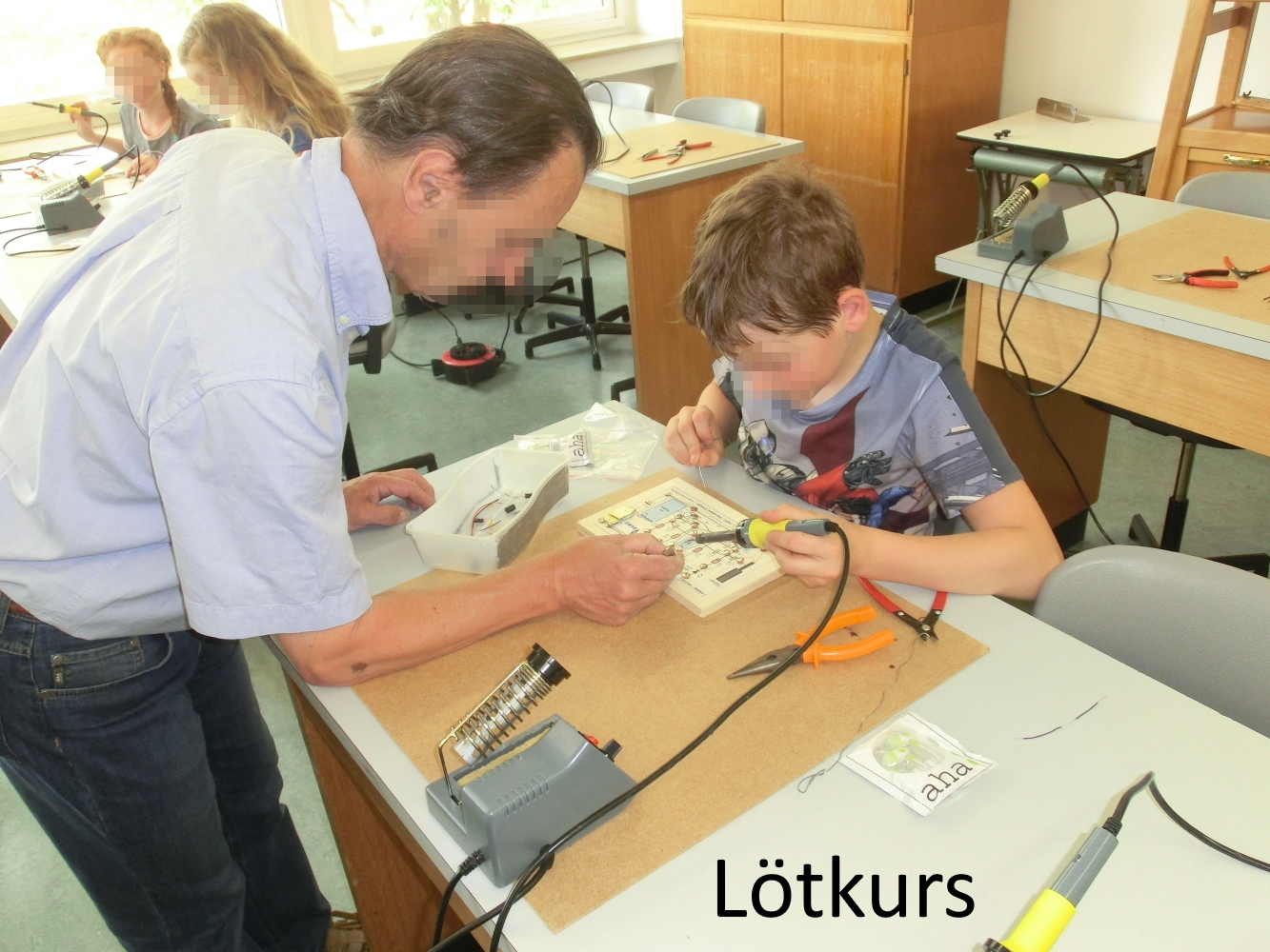 Read more about the article Lötkurs