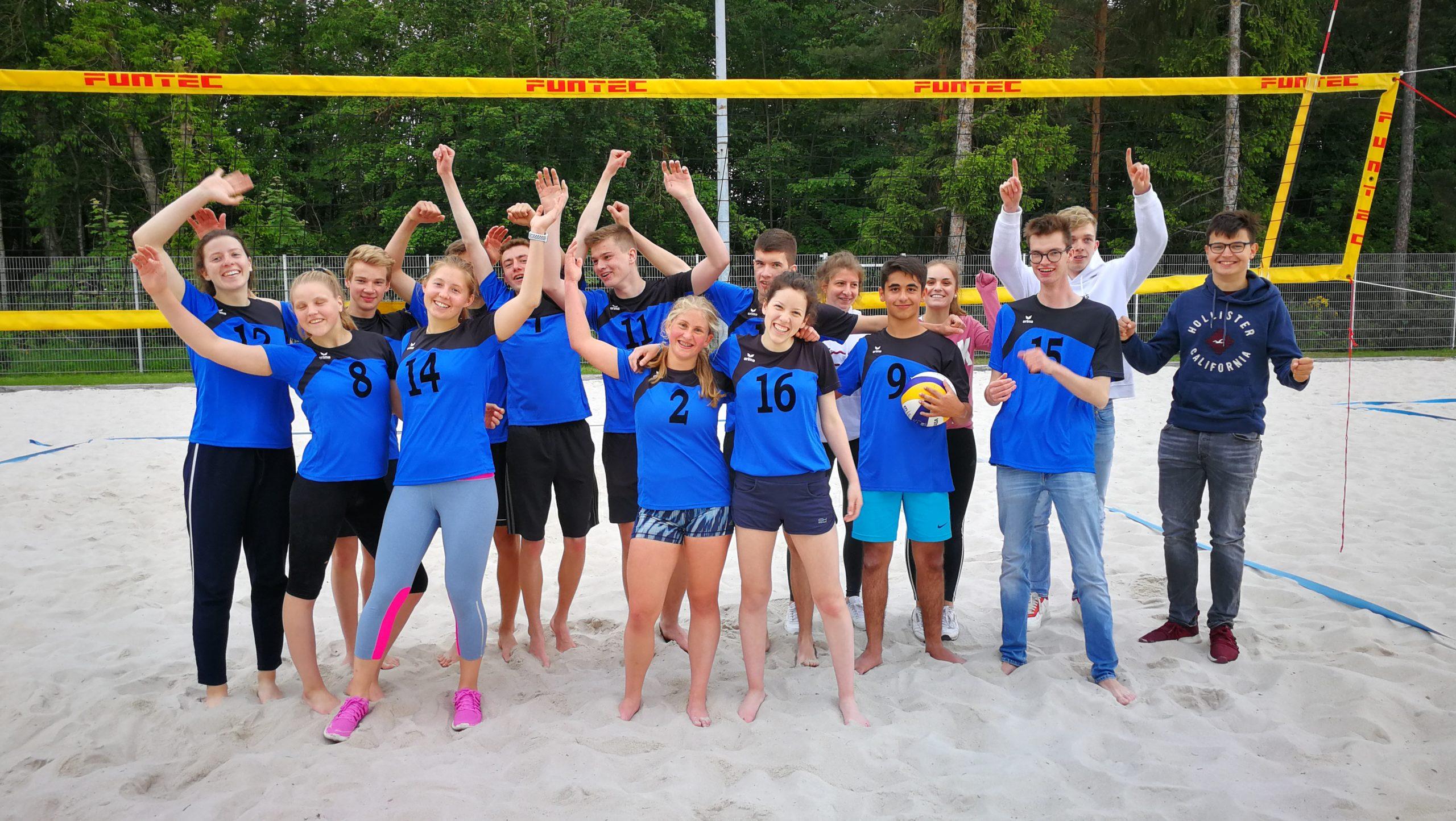 Stadtmeisterschaften im Beachvolleyball Jungen und Mädchen II